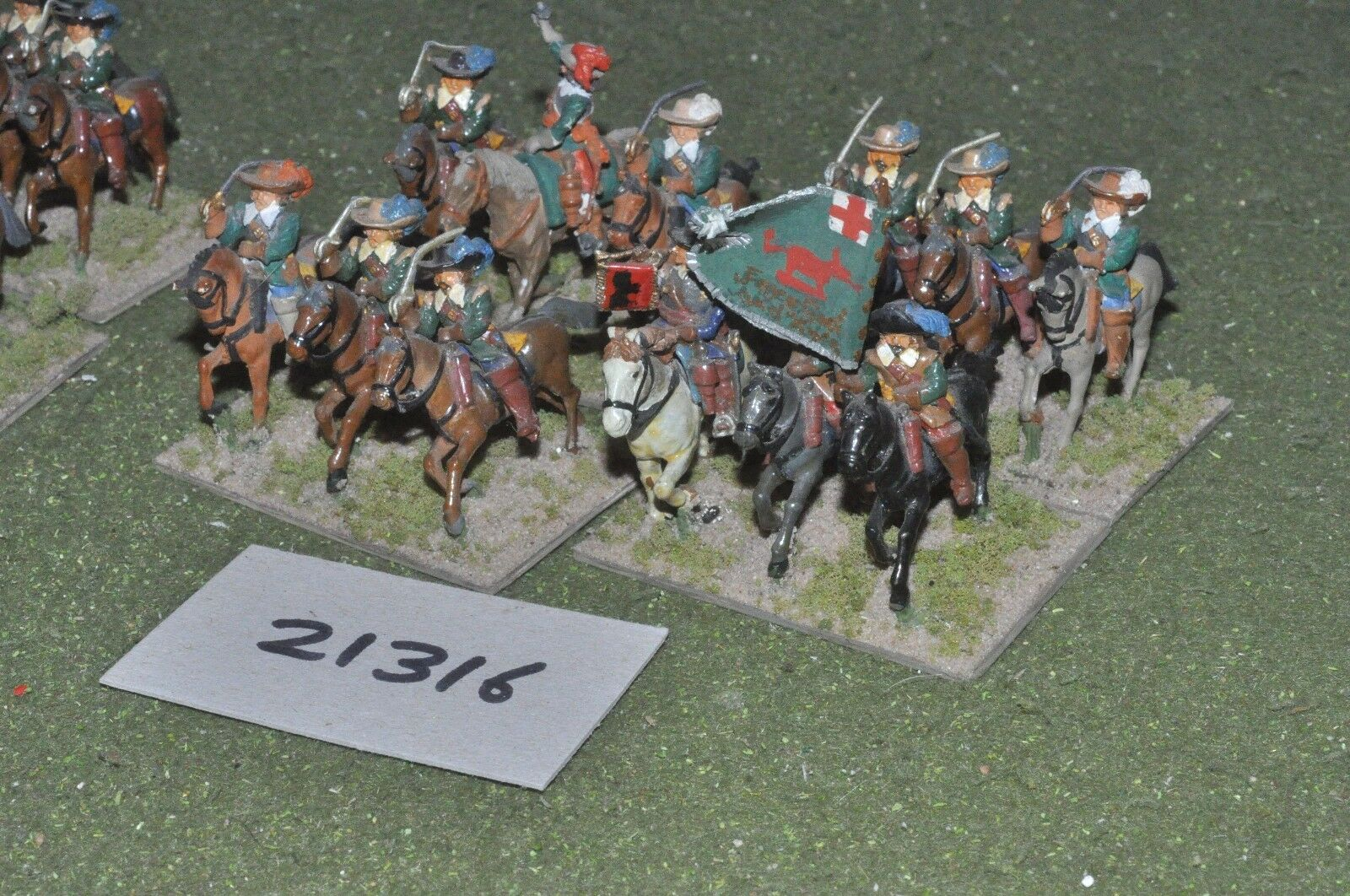 25mm ECW   english - civil war cavalry 12 cavalry - cav (21316)