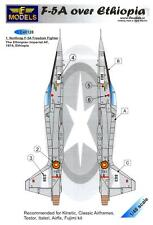 LF Models Decals 1/48 F-5A FREEDOM FIGHTER OVER ETHIOPIA