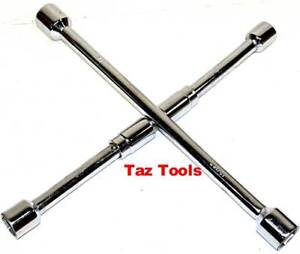 Folding Lug Wrench SAE Cross Wrench Tire Nut Remover 11/16