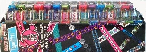 Other Beads & Jewelry Making Monster High Fashion Angels Tapeffiti Bracelet Kit New