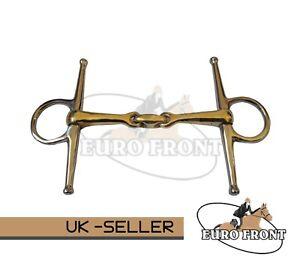 AMIDALE FULL CHEEK HORSE BIT COPPER MIX LOZENGE STAINLESS STEEL GERMAN STEEL NEW