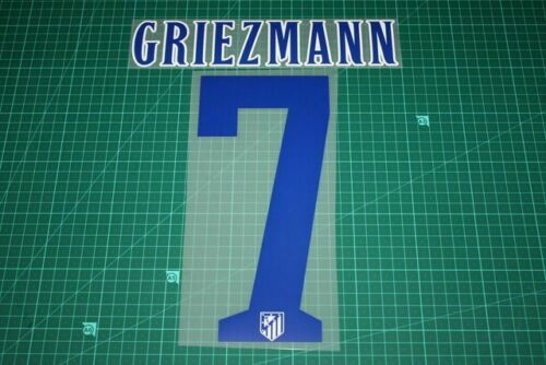 Atletico Madrid 14//15 #7 GRIEZMANN Homekit Nameset Printing