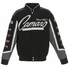 Authentic Ford Truck  Embroidered Cotton Jacket JH Design Black
