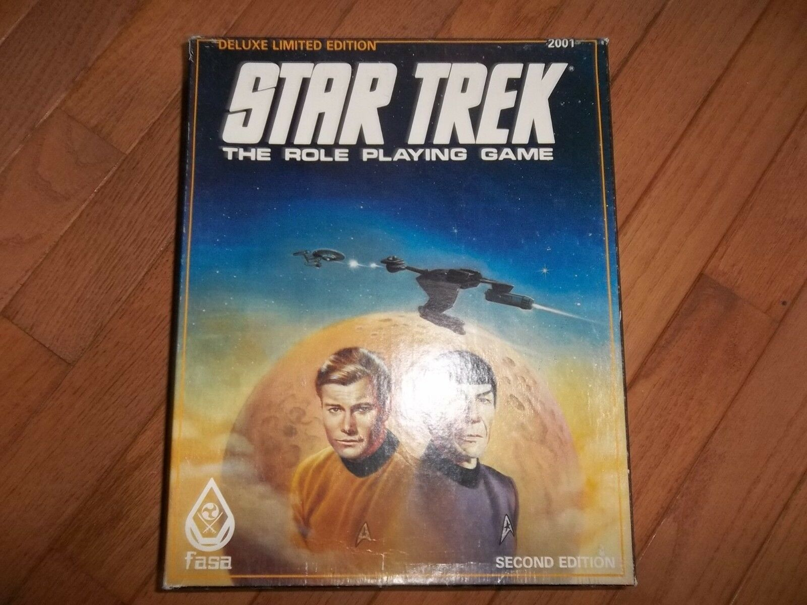 FASA Star Trek RPG Deluxe Deluxe Deluxe Limited Edition Box Set 2nd Edition 4392bf