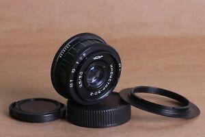 Industar-Industar-50-2-3-5-50mm-m42-sowjetischer-russischer-UdSSR-SLR-Adapter-Nikon