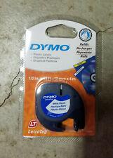 Dymo Refill White Plastic Cartridge 12 91331 Letratag Lt