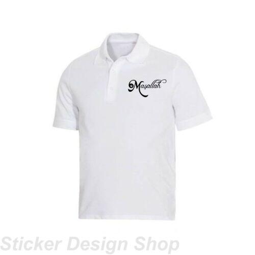 Masallah T-shirt stampa immagine di staffa per rendere anche applicazione caldo Türkiye