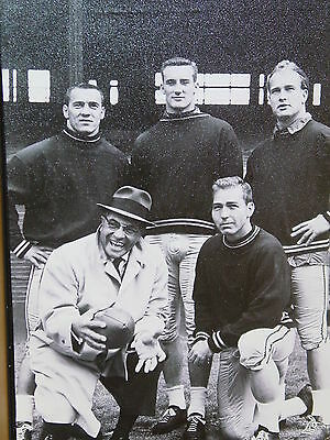 """NFL, Vince Lombardi 24"""" x 36"""" Canvas Print, Framed, """"Green Bay Packers"""" NEW"""