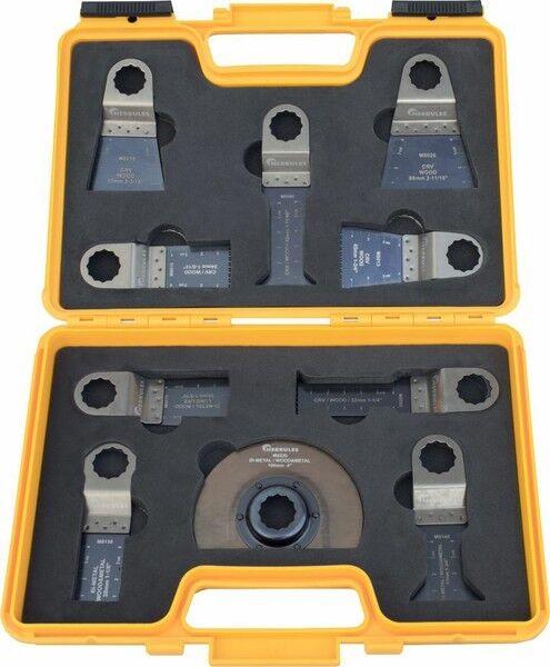 Multischleifer-Set 10-teilig, Tauchsägeblatt, für Fein Super Cut,Festool Vecturo