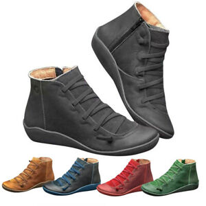 Womens Winter Arch Support Ankle Boots