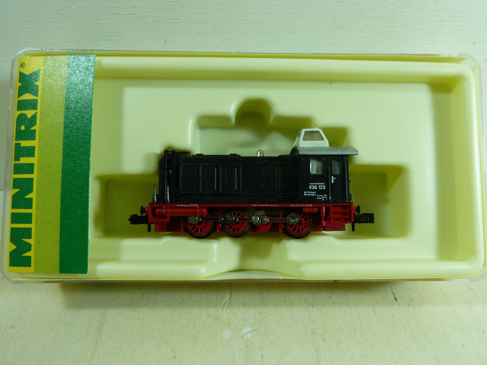 Vemos mini-Trix diesellok v36 12840