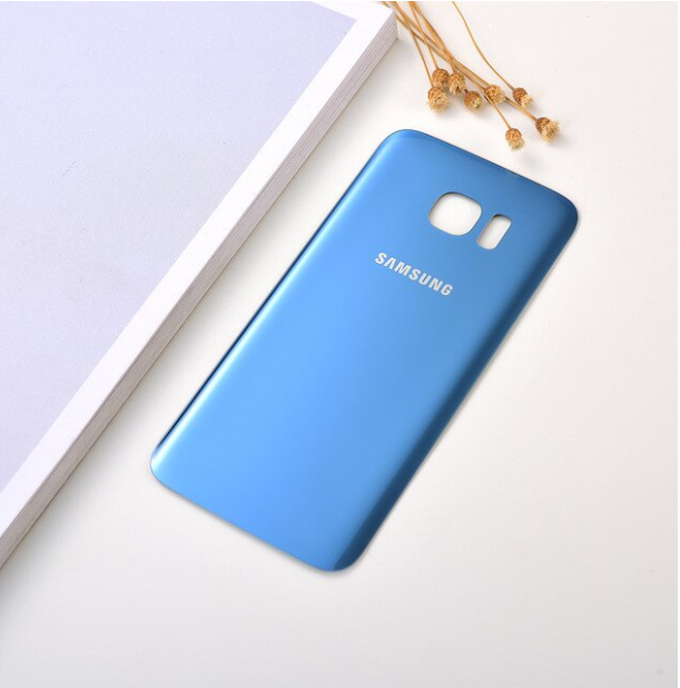 Cache Batterie Samsung Galaxy S 7 Edge - Bleu - Envoi en Suivi