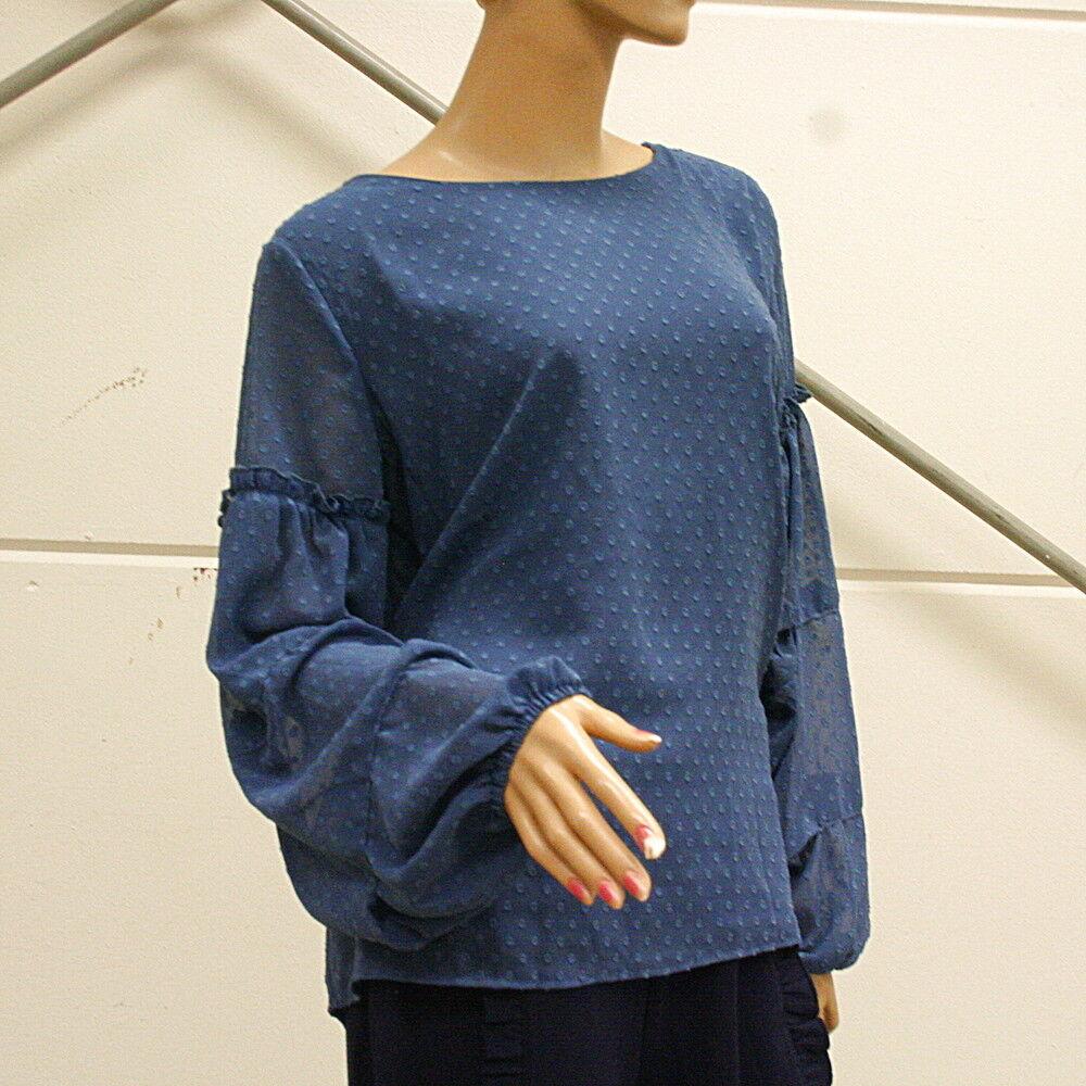 COPO DE NIEVE Blause Conleys blau Impressionen Gr. 40