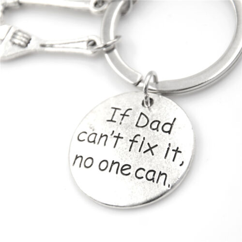 Fashion Hand Tools Keychain,Daddy Keyring Dad Gift Fathers Day Father Keychain R