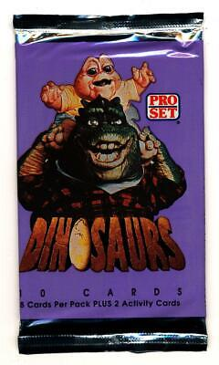 1992 DINOSAURS TV SHOW COMPLETE BASIC TRADING CARD SET