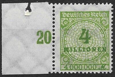 In Design; Angemessen Minr 316ap Mit Plattenfehler Von Feld 41 Postfrisch Novel