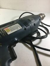 Ryobi Corded Hammer Drill D550h With Case Handle Bits Manual Tested Works