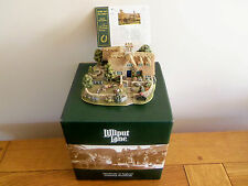 Lilliput Lane .. BRIDLE & BIT STABLES - WARWICKSHIRE . LARGE PIECE ..box & deeds