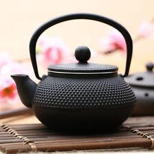 300ml Black Hobnail Tetsubin Kettle Janpan Cast Iron Tea pot Infuser Teapot
