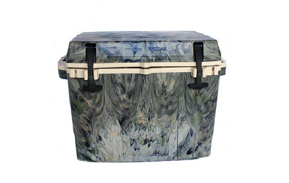 NEW Taiga Coolers Leak Proof 27 Quart Woodland Camo  Cooler w  R5 Insulation  100% genuine counter guarantee