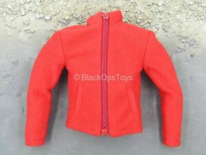 1-6-Scale-Toy-Life-Of-Ice-Red-Fleece-Like-Jacket