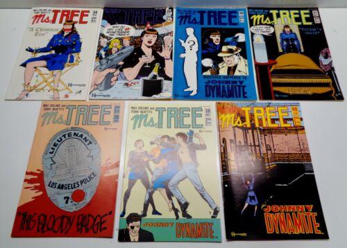 40 June RENEGADE 1986//87 NOS 7 Ms.Tree COMICS No 34 Nov