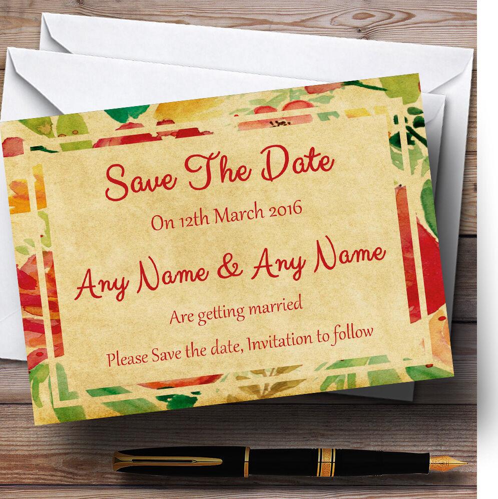 Carte POSTALE jaune fleurs jaune POSTALE rose mariage Personnalisé Cartes save the date dbdf67