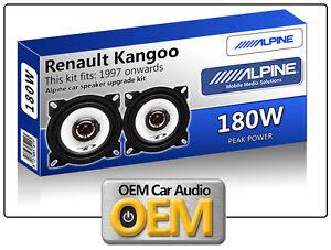 /2007/Dash or Side Rear Range Pioneer Dual Cone 100/Speaker//Speakers for Renault Kangoo 1997/