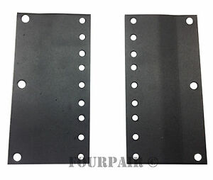 "23/"" to 19/"" Inch Rack Reducer Adapter Converter Brackets Tabs Steel 1 Space 1U"