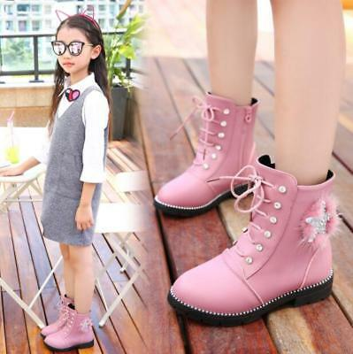 kids girls ankle boots