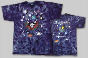 4XL Grateful Dead Space Your Face tie dye shirt GARCIA, WEIR, LESH - 2 sided