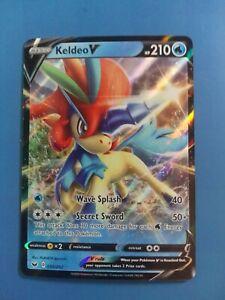 Keldeo V 053/202 Pokemon Card Ultra Rare Sword & Shield ...