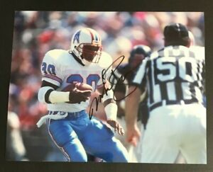 MIKE ROZIER NFL Houston Oilers Football Auto Autographed Signed 8x10 Photo