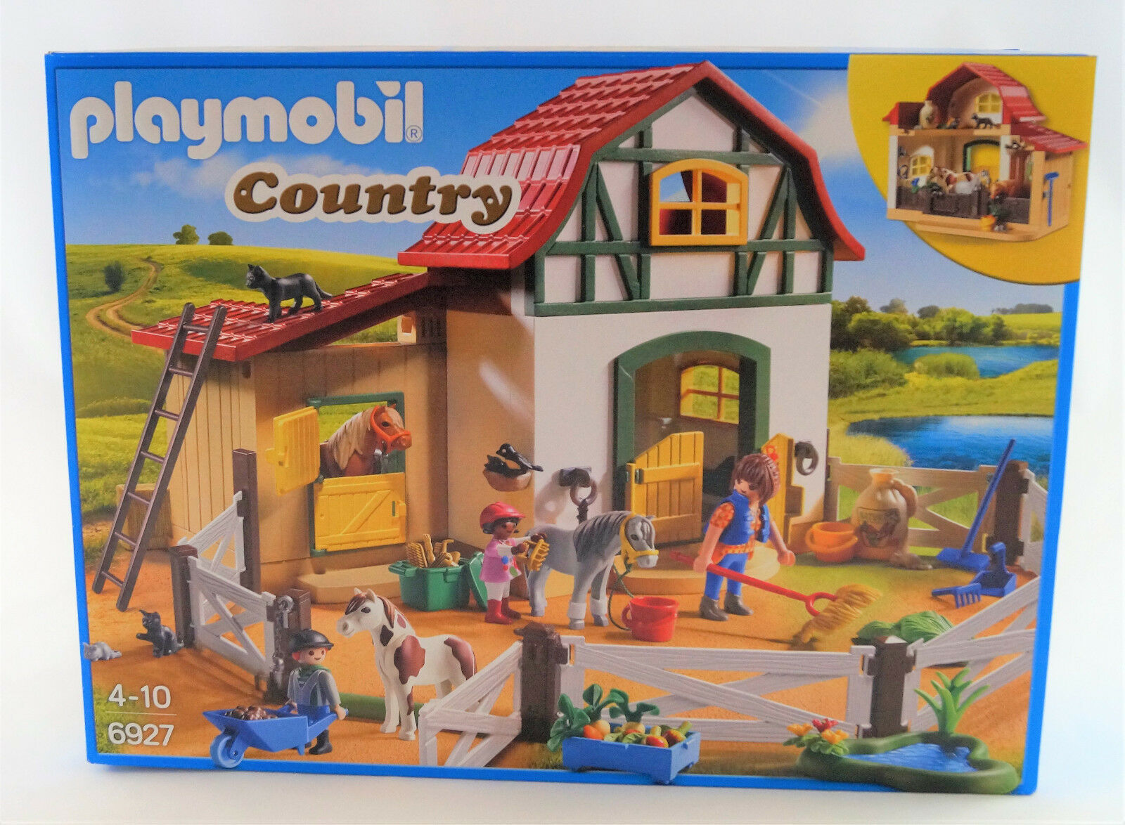 Playmobil Country 6927 Ponyhof Neuware / New