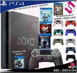 DAYS-OF-PLAY-PS4-1TB-2019-PLAYSTATION-4-SEGUNDO-MANDO-A-ELEGIR-COLORES-4-JUEGOS