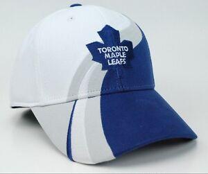 15c32863 Toronto Maple Leafs Reebok NHL Wave Pro Shape Practice Flex Fit ...