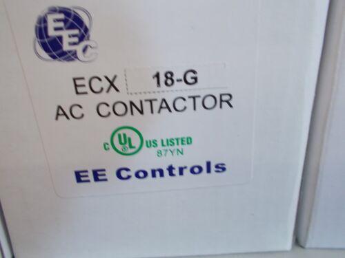 EEC ECX18G  CONTACTOR 24VAC COIL  AEG