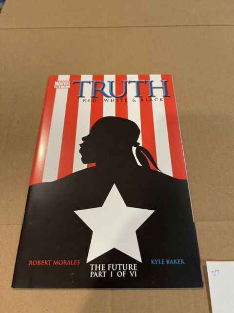 TRUTH: Red White & Black #1 -1st app Isaiah Bradley Falcon Winter Soldier