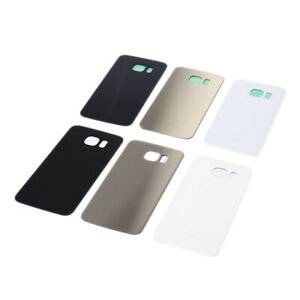 OEM-Battery-Cover-Glass-Housing-Rear-Back-Door-Lens-For-Samsung-Galaxy-S6-G9PTH