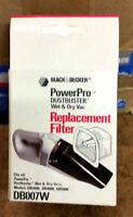 Black&Decker  PowerPro Dustbuster Wet/Dry Vacuum Filter Replacements