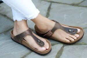 Birkenstock Sandals Gizeh tabacco