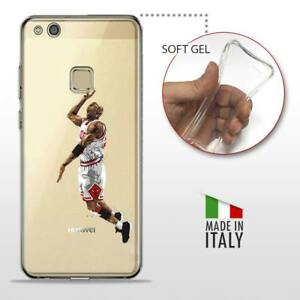 wide varieties beauty size 40 Details about Huawei p10 Lite TPU Gel Protective Back Case Cover  Transparent NBA Basketball Michael Jordan- show original title