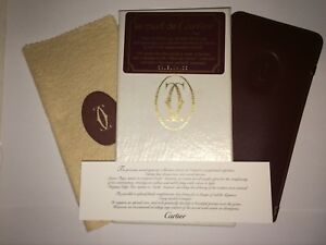 558bd480479f Image is loading Cartier-Glasses-Case-with-Box