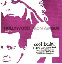 (408Y) Hollywood Mon Amour, Call Me - DJ CD