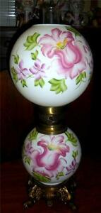 Image Is Loading Gone With The Wind Lamp Reproduction Pinkish Purple