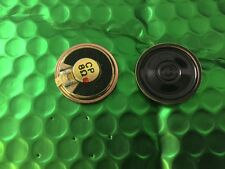 Speaker Mini Speaker 8 Ohm 30mm Magnet Audio UK Stock Philips **2 per sale**