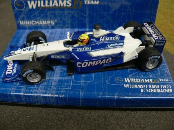 1 43 43 43 Minichamps williams f1 BMW fw23 R. Schumacher  5 400010005 07df18
