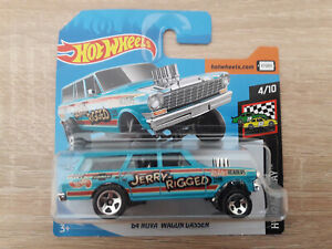 Hot-Wheels-Hotwheels-039-64-Chevy-Nova-Wagon-Gasser-1-64-1-64-HW-Race-Day-4-10