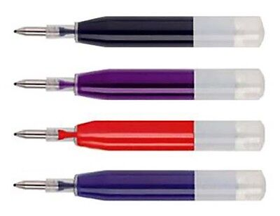 Black//Blue//Red Ink Refill 100mm//10cm Gel Ink Replacement For Roller Ball Pens