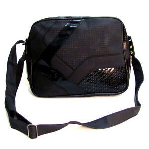 Dunlop-Shoulder-Courier-Zip-top-Flight-Bag-Matt-and-Shiny-black-67